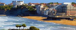 Grande plage vue  le doare medium