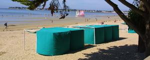 Tente plage medium